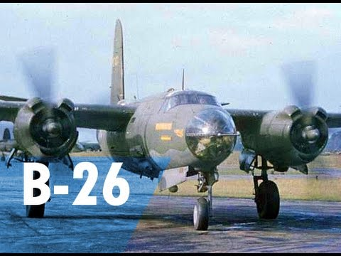 the flight guide to the martin b 26 marauder youtube. Black Bedroom Furniture Sets. Home Design Ideas