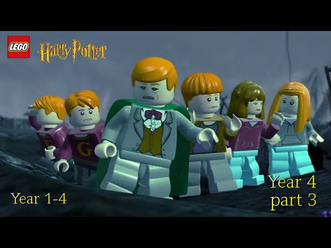 LEGO HARRY POTTER YEARS 1-4 GAMEPLAY PART 3- YEAR 4 THE GOBLET OF FIRE |