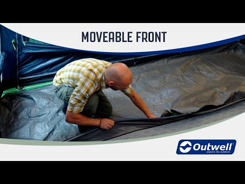 Outwell Movable Front (New feature 2020)  | Innovative Family Camping