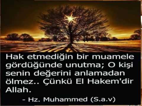 Hz Muhammed Sözleri  Aşık Oldum Muhammed'e  Hazırlayan  Mesut TAMER