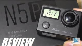 REVIEW: DBPower N5 Pro - 4K Action Camera (Wi-Fi, 20MP)