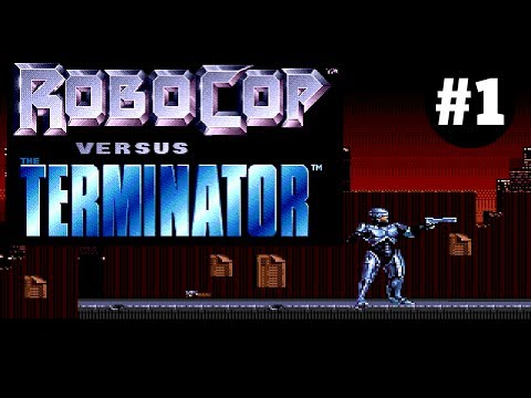RoboCop Versus The Terminator #1 (РобоКоп Против Терминатора)