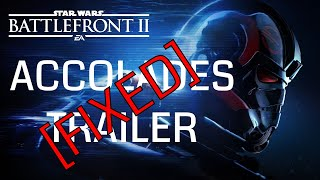 Star Wars Battlefront 2: FIXED Accolades Trailer - InvaderMEEN