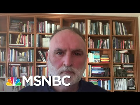 Jose Andrés: 'What The Pandemic Can Teach Us About Treating Hunger'   Andrea Mitchell   MSNBC