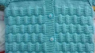 Simple & Easy sweater design in hindi (Eng. subtitles ) / knitting pattern for kids & beginners / 74