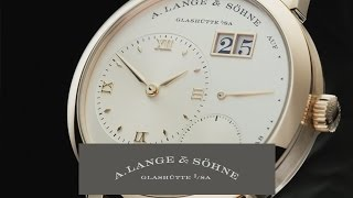 LANGE 1 The legend among LANGE timepieces