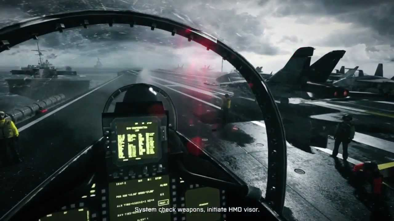 Battlefield 3 - Extended Jet Gameplay (Part 1) - YouTube