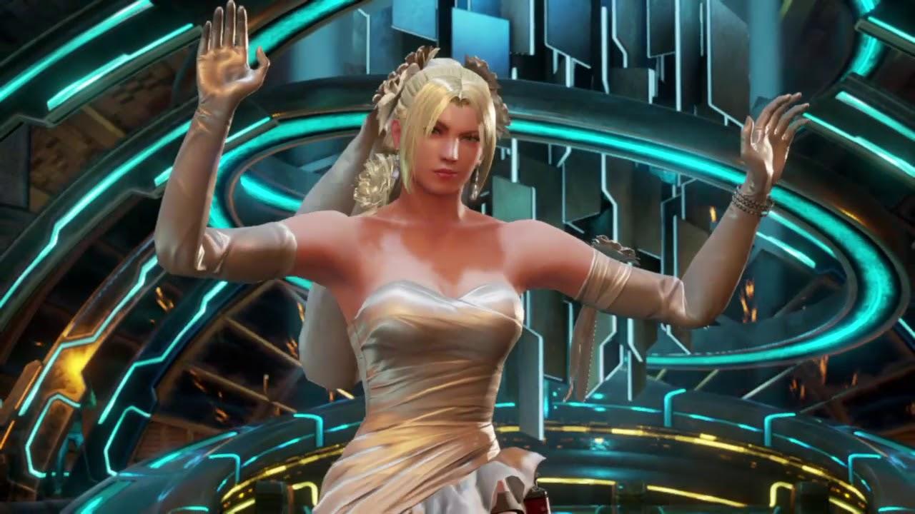 Tekken 7 Bowling Nina Williams Playing In A Wedding Dress Youtube