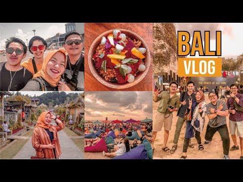 BALI TRAVEL VLOG | SOUNDRENALINE 2019 | LA PLANCHA | FINNS BEACH CLUB | PENGLIPURAN VILLAGE