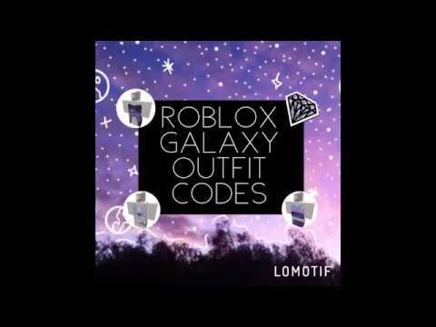 Roblox Galaxy Outfit Codes Youtube