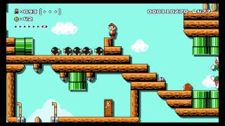 Repeat youtube video Super Mario Maker - Expert 100 Mario Challenge Wii U Footage (Direct-Feed)