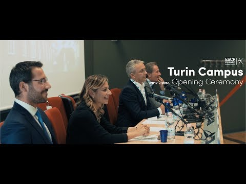 ESCP Europe Turin Campus Opening Ceremony A.Y. 2017/2018