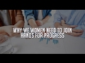 Why We Women Need to Join Hands for Progress