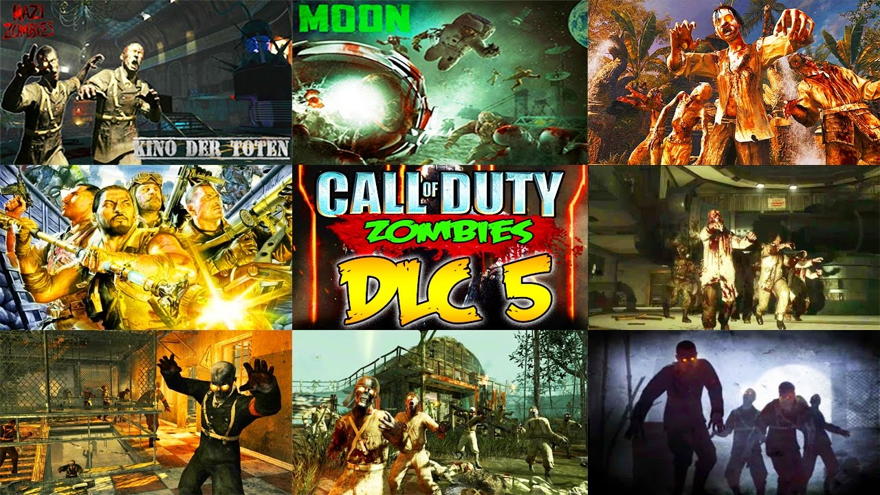 BO3 ZOMBIES DLC 5 - ALL MAPS LEAKED!!! (Zombie Chronicles DLC 5 Remastered)