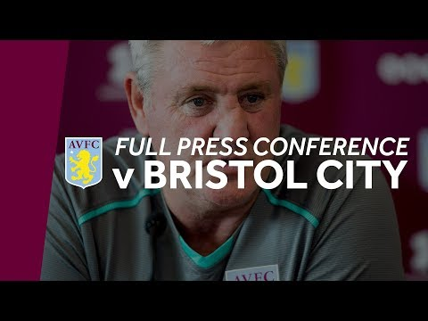 Press conference: Bristol City away