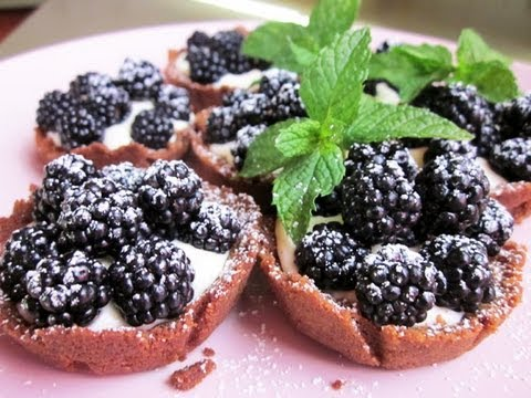 recettes-des-tartelettes-mûres-mascarpone-vanillées