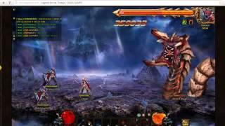 Legend Online Setli Büyücü Boss kombo 81. sunucu Erkaan