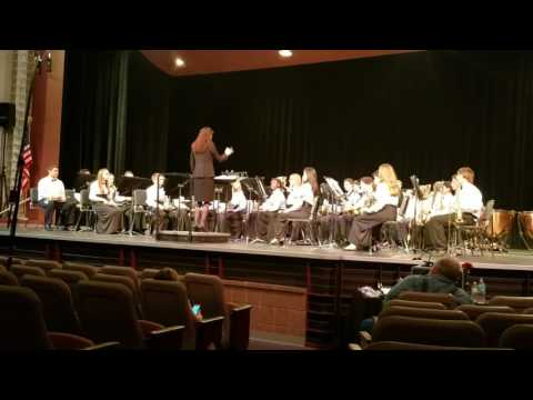 DeLaura Middle School Band MPA 2017