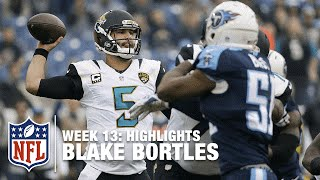 Blake Bortles' 1st Career 5 Touchdown Day! | Jaguars vs. Titans |  NFL