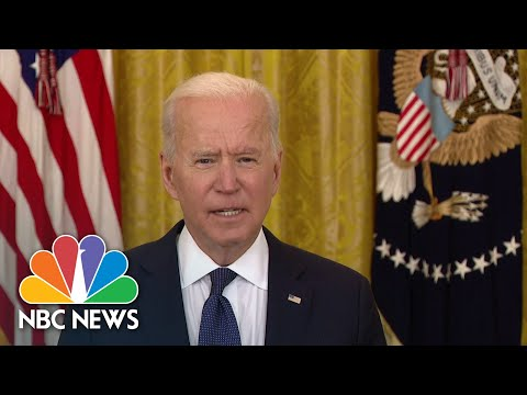 Biden Addresses Pipeline Cyberattack: FBI Is Engaged To Assess, Address This Attack   NBC News