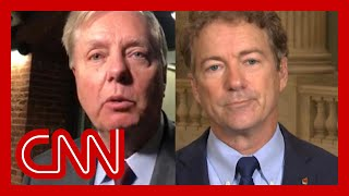 Rand Paul fires back at Lindsey Graham: That