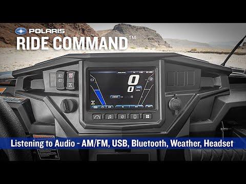 RIDE COMMAND: Listening to Audio | Polaris RZR®