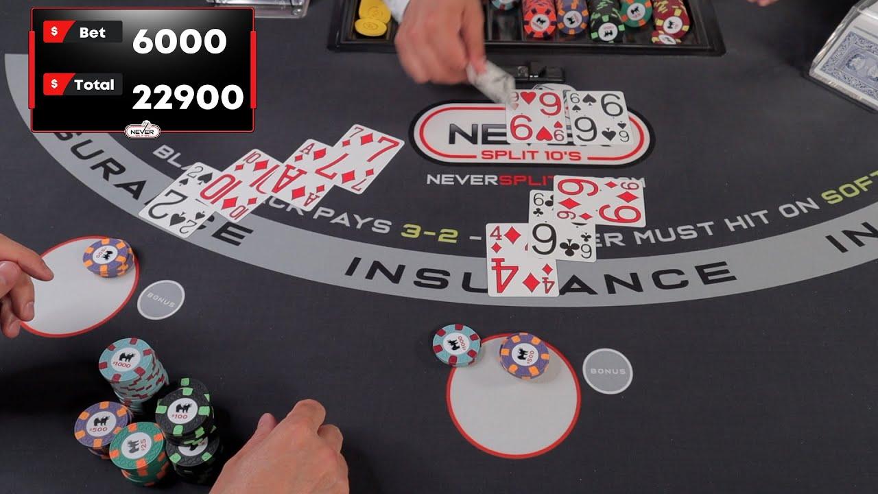 $17,000 Blackjack - Part 2... Double Down #107