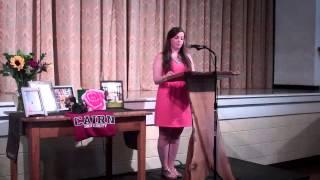 Jennifer Henderson Senior Speech