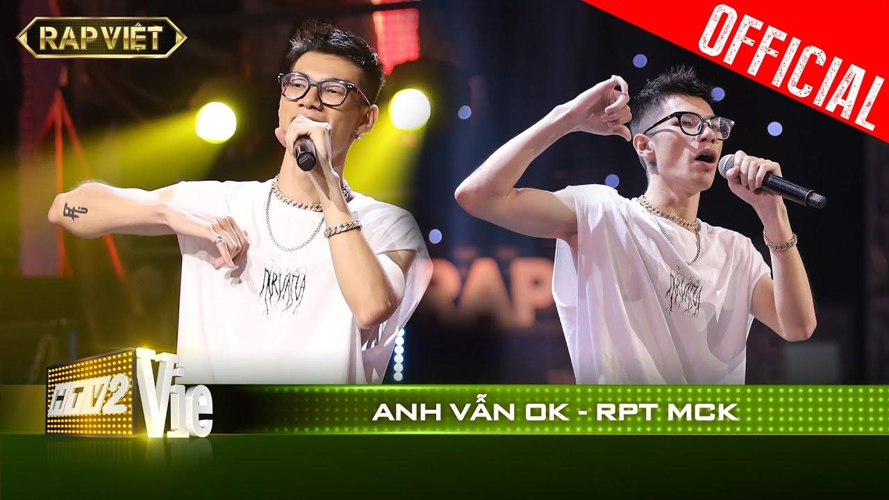 RPT MCK được Wowy gọi là thiên tài vì rap nhạc trên nền nhạc Duy Mạnh| RAP VIỆT [Live Stage]