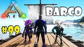 TUDO NOVO BARCO PINTURA E PLATAFORMA NO BRONTO =O #99 -  Ark Survival Evolved Multiplayer