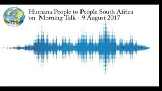 Humana People to People South Africa on Morning Talk