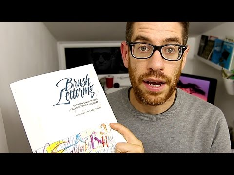 How to LEARN BRUSH LETTERING - Book Review