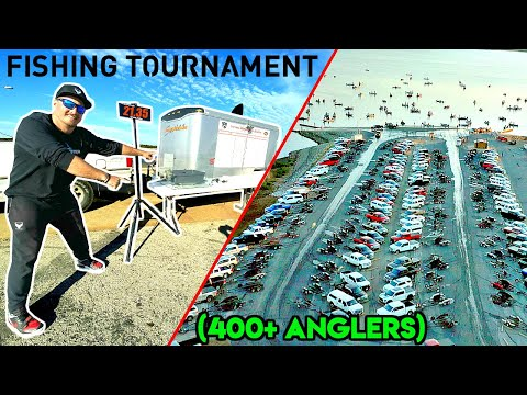 WORLD'S LARGEST YOUTUBE BASS FISHING TOURNAMENT!!! (400+ FISHERMAN)