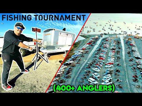 WORLD'S LARGEST YOUTUBE BASS FISHING TOURNAMENT!!! (400+ FISHERMAN)
