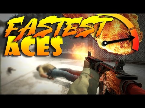 CS:GO - FASTEST Aces!