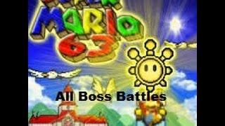 Super Mario 63 All Bosses w/ Custom Music