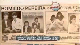Zezé Di Camargo e Luciano -  é o amor, Romildo Pereira fala ao Balanço Geral