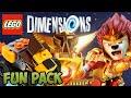 LEGO Dimensions: Laval (CHIMA) - Fun Pack - Free Roam + Unboxing (71222)