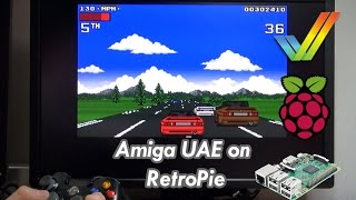 RetroPie Raspberry Pi 3 AMIGA UAE Emulator ClassicWB, Turrican, Lotus, Alien Breed, Giana Sister, +