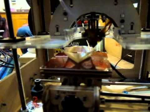 3-D Printing Geometric Shapes on a Makerbot Cupcake