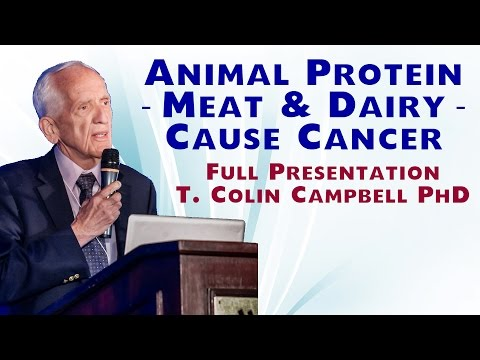 Animal Protein -- Meat and Dairy -- Cause Cancer