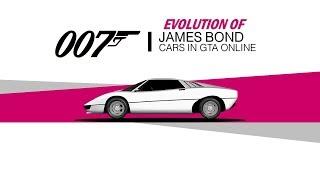 Evolution of James Bond Cars in GTA Online