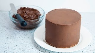 how to make chocoalte ganache for cake icing