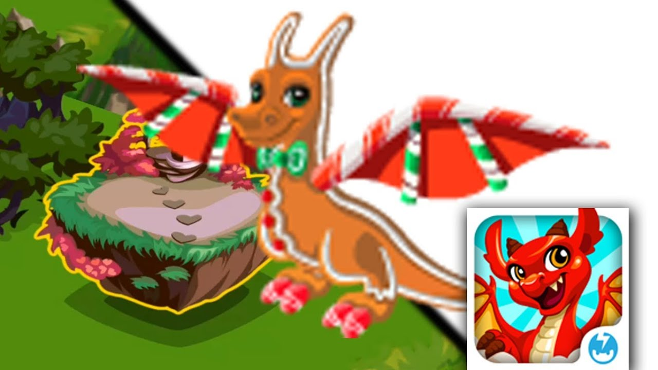 How to breed Gingerbread Dragon in Dragon Story! [Christmas Dragon ...