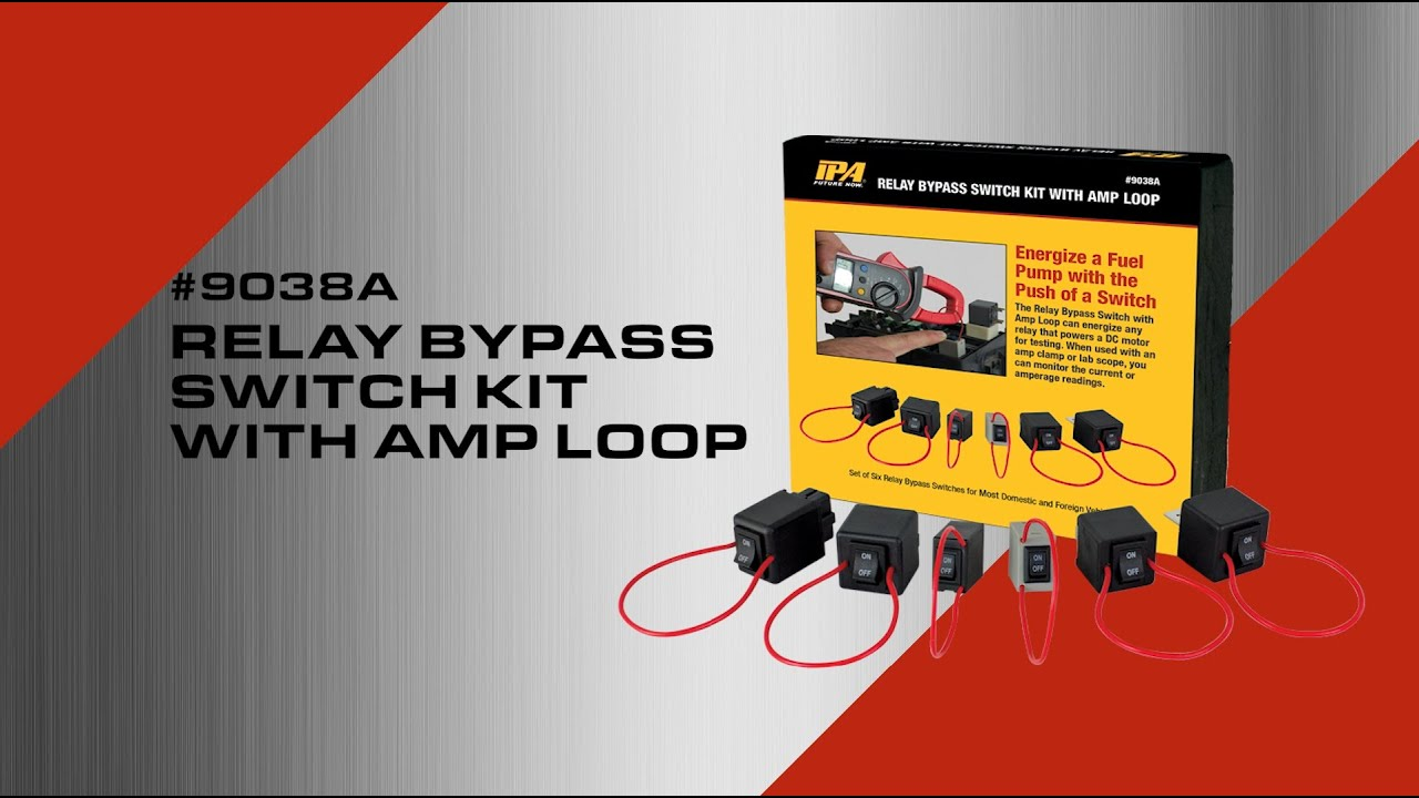 9038a Ipa Relay Bypass Switch Kit Youtube