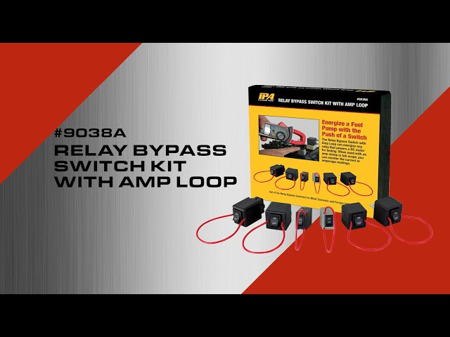 9038A IPA Relay Bypass Switch Kit