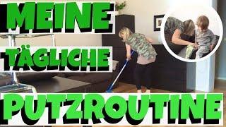 XXL PUTZROUTINE TEIL 1 | CLEANING | mummy2day