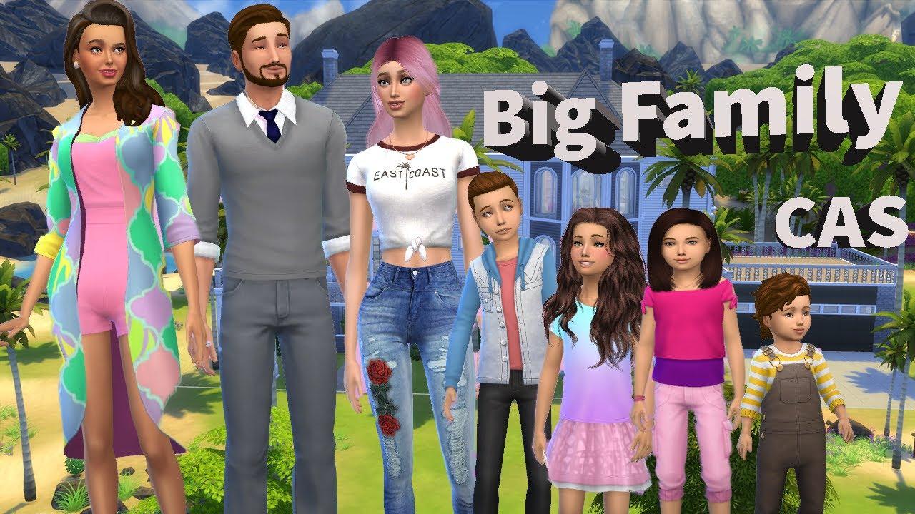Sims 4 Bigger Household Cas