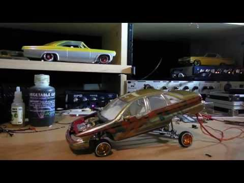how to build a lowrider car