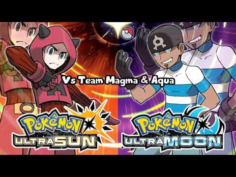 Pokémon Ultra Sun & Ultra Moon - Team Magma & Aqua Battle Theme Remix (Unofficial)